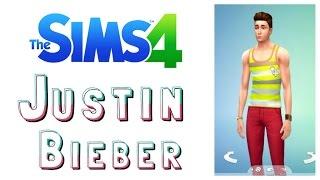 Sims 4   Justin Bieber (Create-A-Sim DEMO)