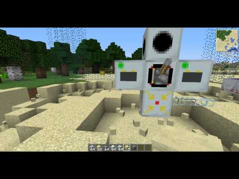 _TUTORIAL_Come fare una protezione con MFFS (forcefield protection) in minecraft