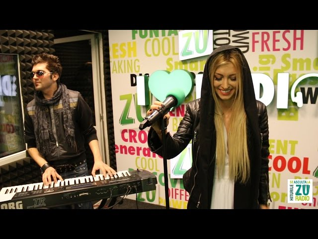 Andreea Balan - Nothing Compares 2U (Cover Live la Radio ZU)