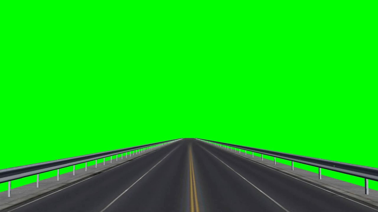 Driving A Road Highway Free Green Screen YouTube