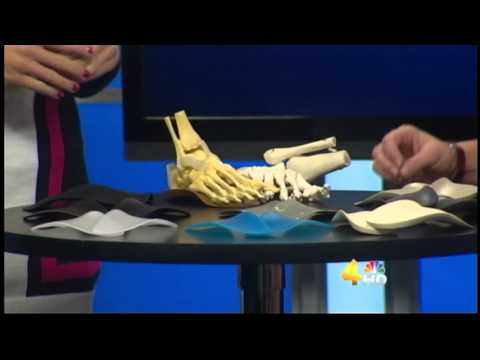 Murfreesboro Plantar Fasciitis, Foot Pain& Heel Pain Relief at Good Feet Store WSMV TV