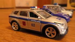 Police Cars for kids driving from One Place to Another || Video about Toy Cars