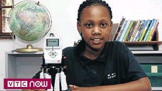 Cô bé 10 tuổi tự chế robot từ miếng ghép Lego   VTC9