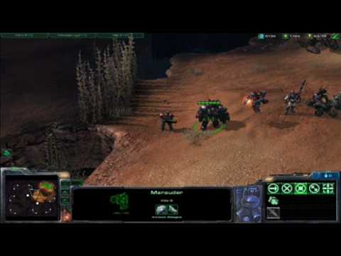 Starcraft II Terran Unit Sounds and Quotes Video