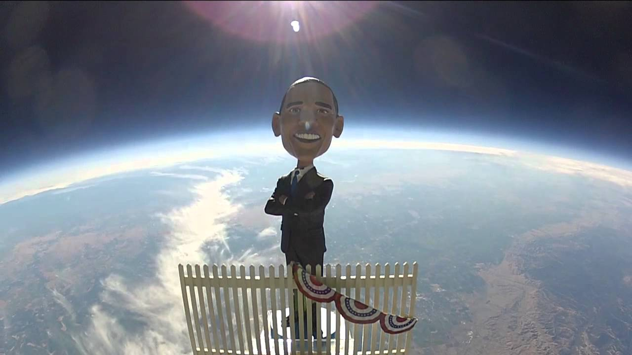 [Obama to Space! YardSaleForObama.com] Video