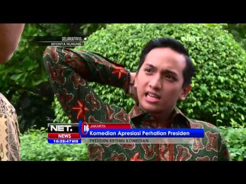 Presiden Joko Widodo Undang Komedian ke Istana Negara - NET16