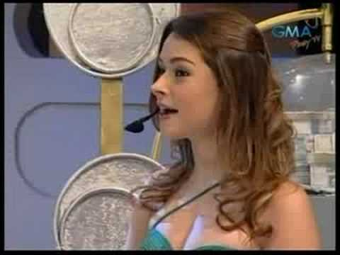 Daiana Menezes on EAT BULAGA Sept 2, 2008