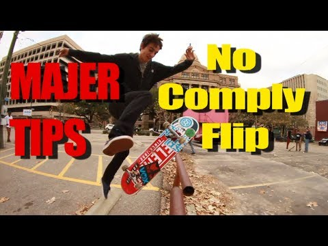 Mikey Whitehouse - No Comply Flip - MAJER TIPS