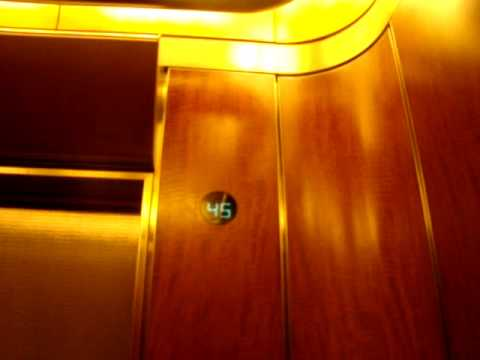 OTIS Ultra High Speed Elevators @ The TD Canada Trust Tower (39-50) Video