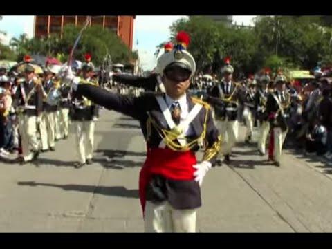 Desfile 15 de Septiembre de 2010. Guatemala