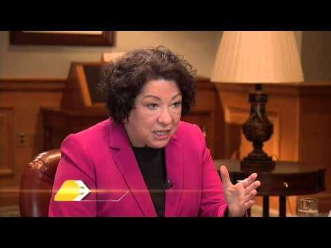 Entrevista a la jueza Sonia Sotomayor (Enero 2013)