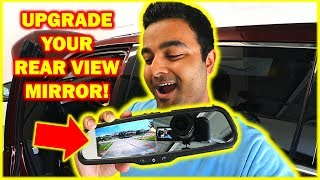 FINALLY a Backup Camera Mirror That Perfectly Fits Your Car (NO STRAPS!!)