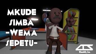 Download Mkude simba - Wema Sepetu | Tanzanian comedy Animation 3Gp Mp4