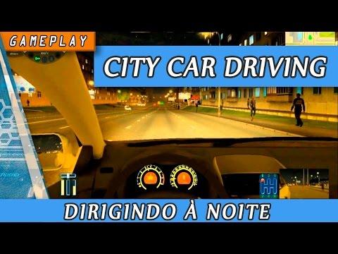 Gameplay Simulador City Car Driving ( 3D Instructor ) de noite