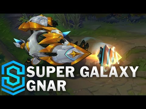 Super Galaxy Gnar Skin Spotlight - Pre-Release - League of Legends