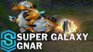 Super Galaxy Gnar Skin Spotlight - Pre-Release - League of Legends
