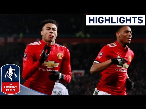 Man Utd 2 - 0 Derby Official Highlights | Incredible Strike from Lingard | Emirates FA Cup 2017/18 thumbnail