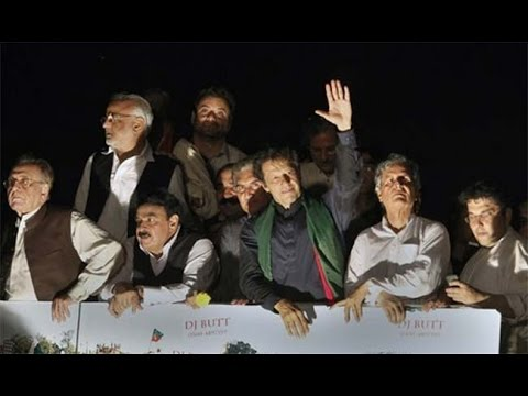 Pakistan Long March Live: Imran Khan And Qadri Depart For Red Zone, Storm PM Nawaz Sharif's House