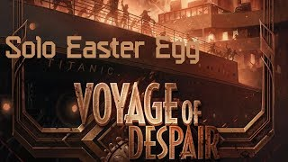 Voyage of Despair Solo Easter Egg || Black Ops 4 Zombies