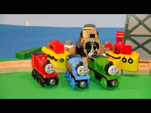 Play Doh Thomas and Friends . we make The Sodor Bay Tug out of Play Doh to help Bulstrode