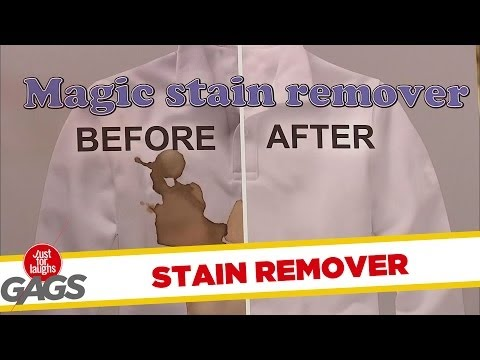 Magic Stain Remover Prank