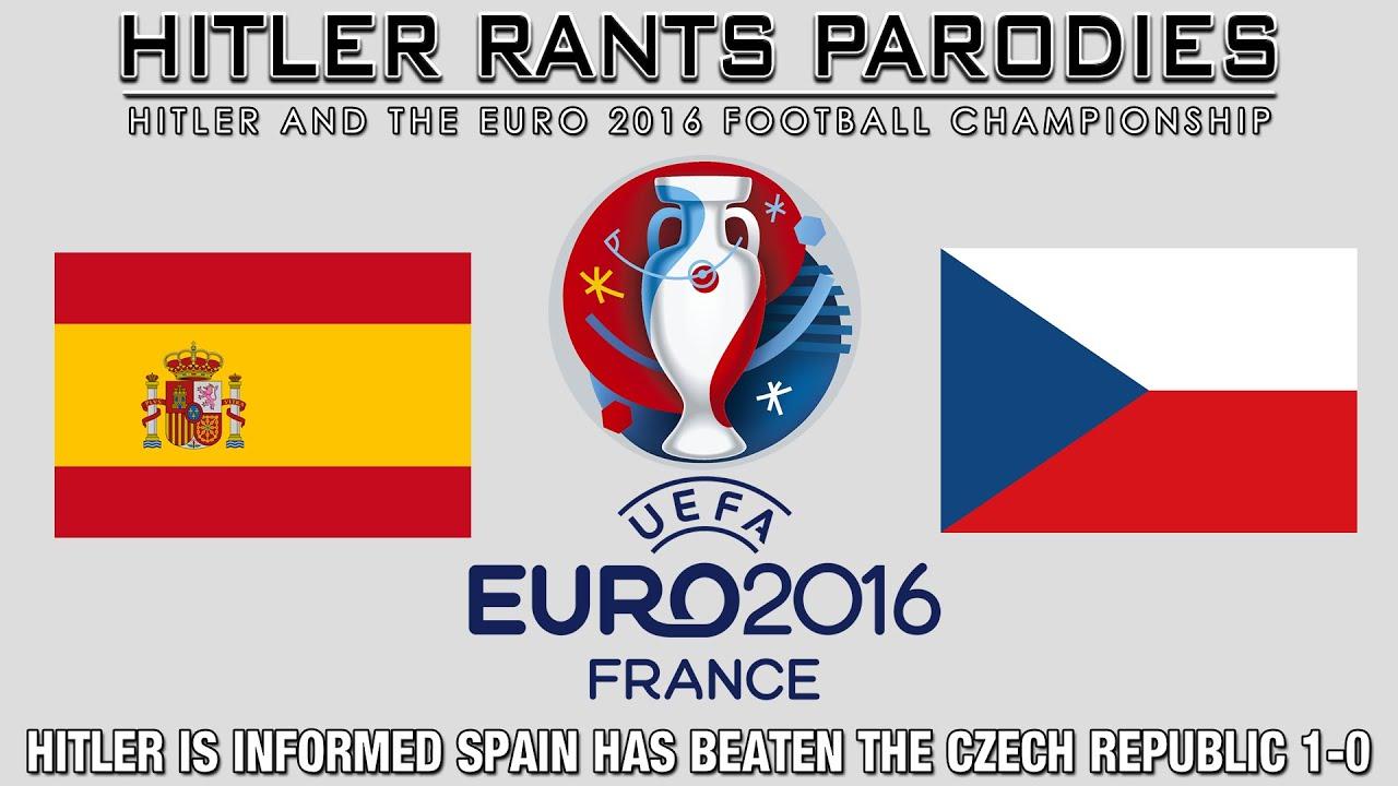 Hitler is informed Spain has beaten the Czech Republic 1-0