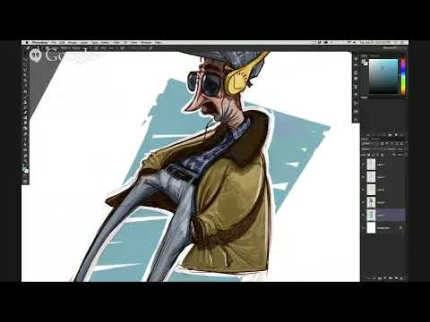 Streaming Character Designs with Brandon Green