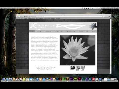 Adobe Muse - From HTML to PHP