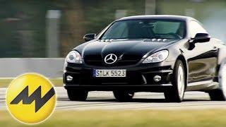 Tracktest Mercedes SLK 55 AMG Patrick Simon testet den Merce