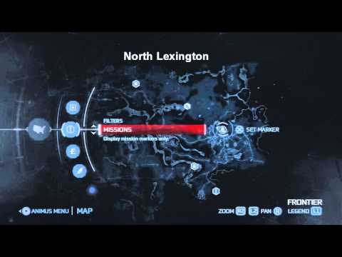 All Trading Posts in the Frontier - Frontiersmen Set 2 challenge - Assassin's Creed 3 [HD]