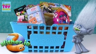 Slitherio Roblox Disney Trolls Shopkins Big Blue Basket Of Blind Bags | PSToyReviews