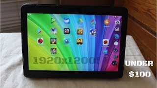 """Is This One Of The Best Android Tablets Under $100?! (Beneve 10.1"""" Tablet Review)"""