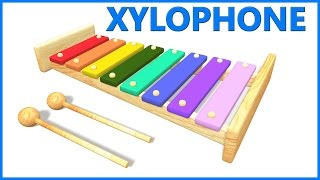 Xylophone For Kids | Letters For Toddlers | ABCD Poems For Kids
