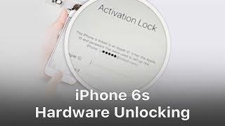 Iphone 6s Hardware Unlock Bypass Icloud