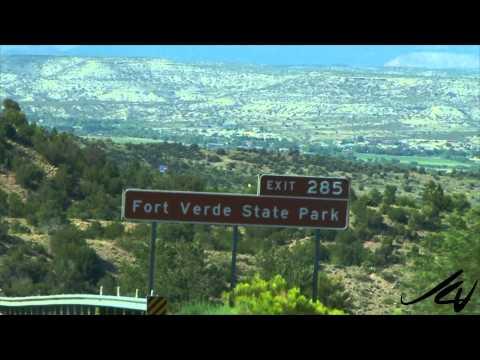 Lets Go Places prt 24  - Arizona, Phoenix to Flagstaff  -  USA Travel -  YouTube
