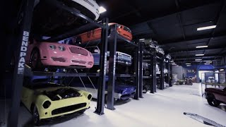 New BendPak HD-973P Parking Lifts at World Famous West Coast Customs