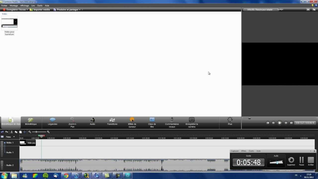 Tuto 12 comment convertir une musique en mp3 pour pouvoir la mettre sur une vid o camtasia - Comment couper une musique mp3 ...