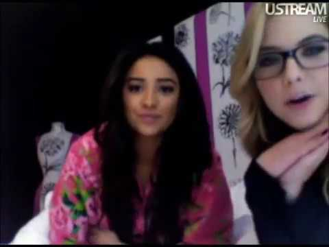 Live Chat w/ Shay Mitchell & Ashley Benson part 1, 3/10/11
