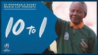 Most Memorable Moments in Rugby World Cup History | 10-1