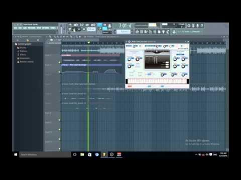 Как сделать эхо в fl studio 10