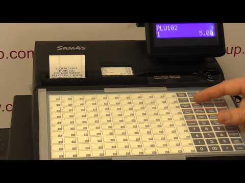 Sam4s ER920 & ER 940 series check tracking restaurant table number logging procedure help