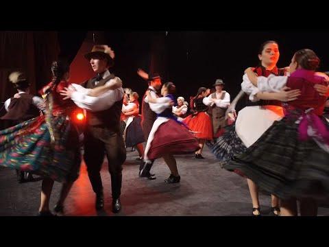 Kapuvár Néptáncegyüttes Ifjúsági Csoport - Gömöri táncok