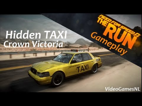 Need For Speed: The Run | Secret/Hidden Car - TAXI Ford Crown Victoria ...