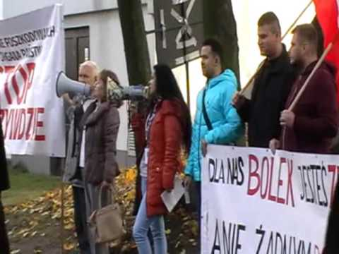 Wałęsa W Zielonej Górze - Protest  20.10.2016