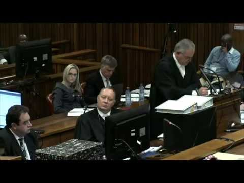 Oscar Pistorius Trial: Tuesday 8 April 2014, Session 2