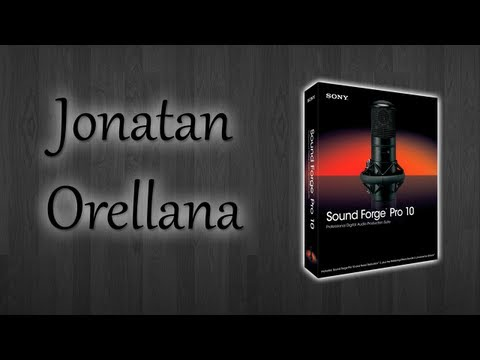 Sony Sound Forge 10 [Descarga + Instalacion]| Jonatan Orellana