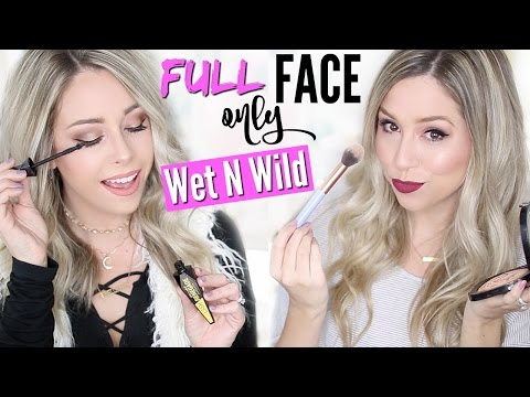 FULL FACE USING ONLY WET N WILD PRODUCTS