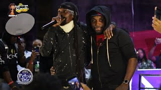 Munga Honorable And Charly Black First Performance Since The Car Accident At College Rave