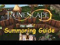 1-99 Summoning Training Guide [Runescape 2014]