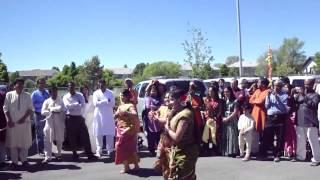 Faguner Mohonay @ Ganesh temple , Salt Lake City, Utah , USA